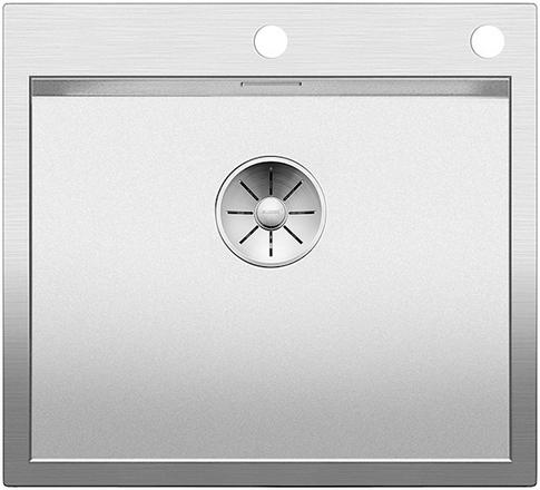 Кухонная мойка Blanco ZEROX 500-IF/A нерж.сталь Durinox® с отводной арматурой InFino® 523101